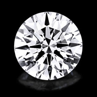 TIMANTTI  3,8mm / 0.21ct / G / IF / GIA