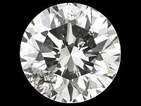 timantti briljantti  3,8mm / 0,23ct /  K / SI2 / aitous  todistuksella