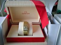 14ct kultainen Omega harvinaisuus alkuperäisellä kultarannekkeella