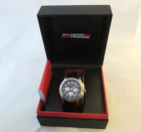 Ferrari chronograph uutta vastaavassa kunnossa alkuperäisenä
