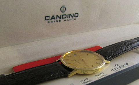 14ct kultainen sveitsiläinen Candino , uutta vastaavassa kunnossa
