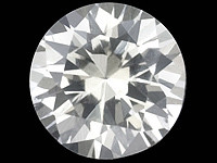 Safiiri ( timanttimainen kirkas  ) 0,04ct / 2,2mm