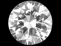 (397) Timanttimainen  3mm kirkas safiiri