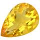 Brasilialainen citriini, kullan keltainen