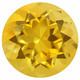 Brasilialainen kullan keltainen citriini 6mm / VVS