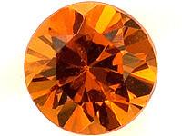 Spessartiini granaatti 3,5mm/ vvs