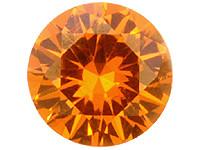 Malaia oranssi granaatti VVS