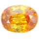 Sphalerite Espanjasta bicolor / 2,6ct / VVS aitoustodistuksella