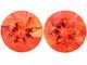 Oranssi Andesiini jalokivipari  5mm