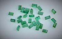 Smaragdi 1,4  x 2  - 2,5mm