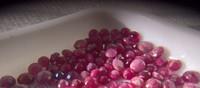 Burmalainen rubiini  2,5 - 3,5mm