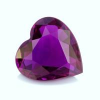 safiiri sydän , erikoinen väriä vaihtava ainutlaatuinen yksilö
