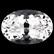 Timanttimainen Danburiitti 0,5ct 6mm