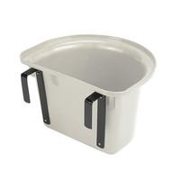 Stubbs ruokinta-astia koukuilla 15l (valkoinen)