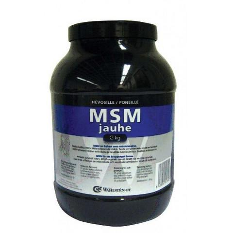 W-MSM  JAUHE 2 KG, 100% MSM