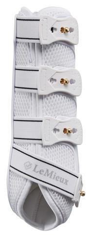 LeMieux Snug boots jännesuojat taakse (pari) Valkoinen