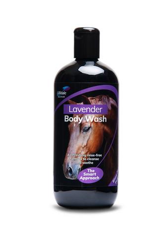 Lillidale Laventelipesuaine hevosille ja poneille (ei tarvitse huuhdella)  500 ML