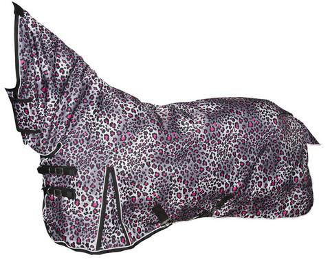 Rain Buster Leopard Fullneck toppaloimi 200g, HARMAA-PINKKI