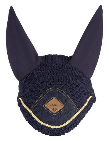 LeMieux korvahuppu Vogue Denim (kultaisella koristenyörillä) VIIMEINEN KAPPALE!!!
