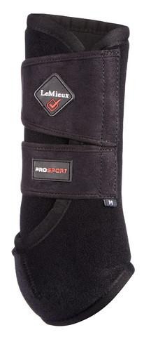 LeMieux Prosport Support Boots koulusuoja Musta (pari)