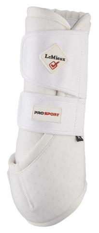 LeMieux Prosport Support Boots koulusuoja Valkoinen (pari)