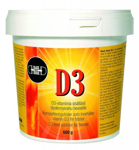 Black Horse D3-vitamiinilisä 600g