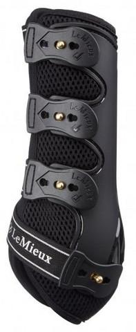 LeMieux Snug boots jännesuojat eteen (pari) Musta