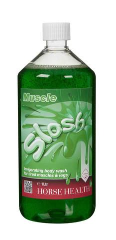 Slosh lihaksia virkistävä shampoo hevosille ja poneille 500ml