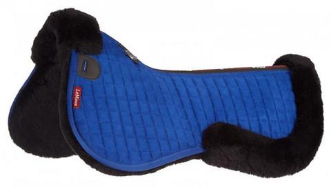 LeMieux Merino+ half pad (Benetton blue/Black) VIIMEINEN KAPPALE!!!