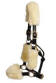LeMieux  riimun lampaankarvapehmustesetti  luonnonvalkoinen (4-osainen)