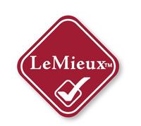LeMieux Merino+ puolivuorattu lampaankarvahuopa koulumalli (Navy)