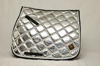 Horse modern design Metallic Silver-setti (yleis/este)