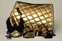 Horse modern design Metallic Gold-setti (yleis/este)