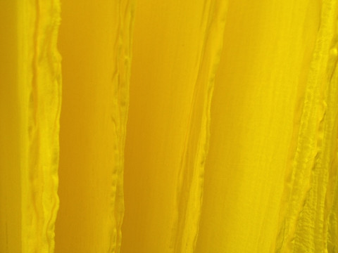 Puuvillasideharso, leveys noin 1 m, keltainen