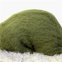 huovutusvilla oliivinvihreä nro 37 (100 g)