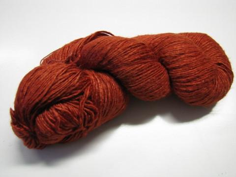 Villisilkkilanka, punaruskea, 100g