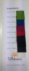 Villaviskoosi värikartta