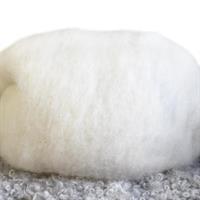 huovutusvilla  valkoinen nro.1 (100 g)