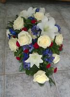 Ruusua, liljaa, ritarinkannusta