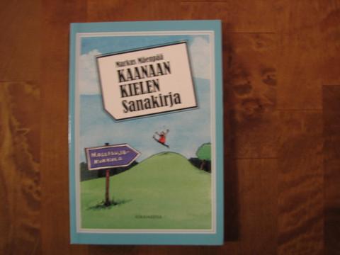 Kaanaan kielen sanakirja, Markus Mäenpää