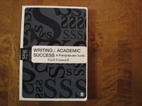 Writing for akademic success, A postgraduate guide, Gail Craswell