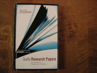 Quality Research Papers for Students of Religion and Theology, Nancy Jean Vyhmeister