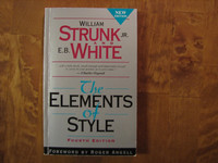 The Elements of Style, William Strunk Jr, E.B. White
