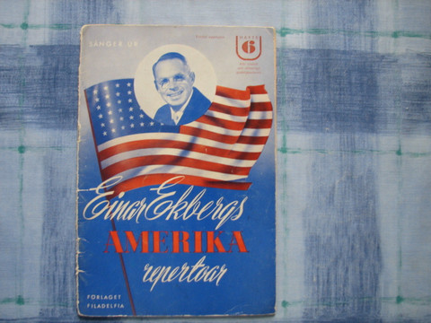 Sånger ur Einar Ekbergs Amerika repertoar, häfte 6