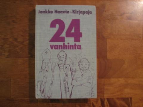 24 vanhinta, Jaakko Haavio