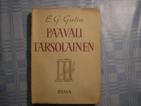Paavali tarsolainen, E.G. Gulin