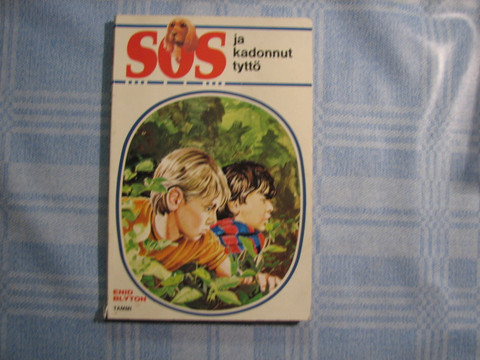 SOS ja kadonnut tyttö, Enid Blyton