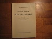 Suomen kirkon diakoniakysymys, Otto Aarnisalo