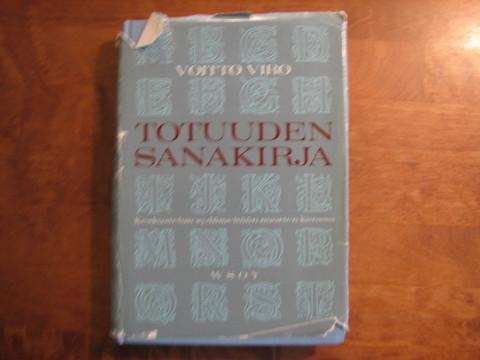 Totuuden sanakirja, Voitto Viro, d2