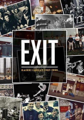 Exit, kaikki laulut 1987-1999, nuottikirja